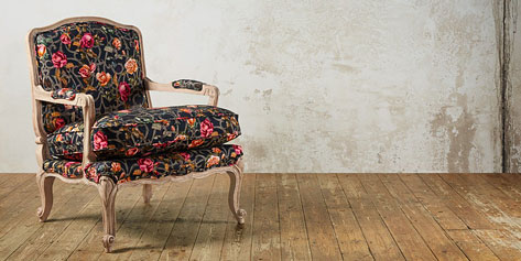 Swoon Lille roses chair
