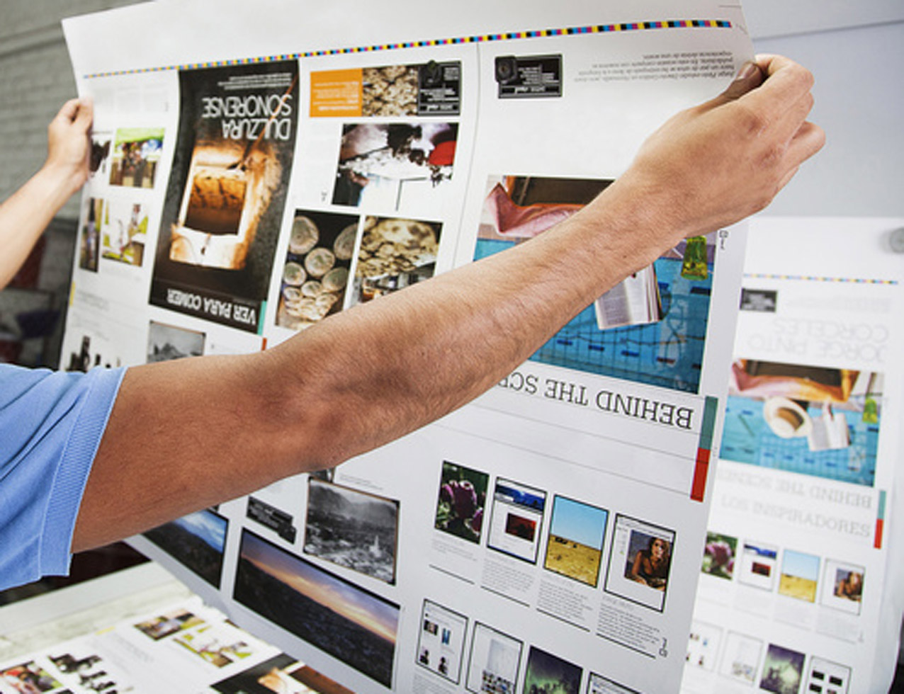 Professionals will manage all your print requirements so you don't have to! Includes design, artwork to production and delivery.