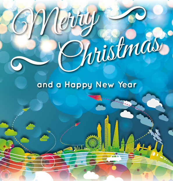 A Merry Christmas & A Happy New Year!