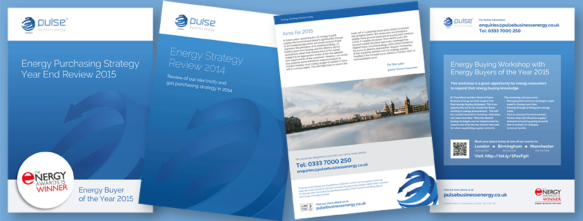 Printing for Pulse Business Energy