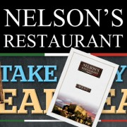 Printing for Nelson's Restaurant, Borough High Street, London SE1