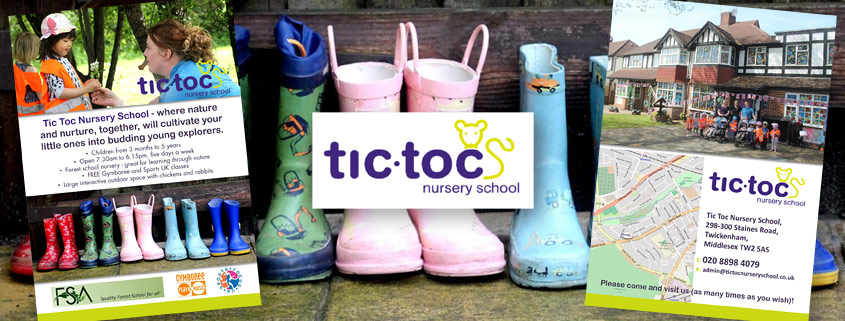 Digital printing for Tic Toc Nursery