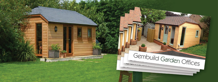 Printed brochures for Gembuild