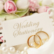 Wedding stationery - design & printing services