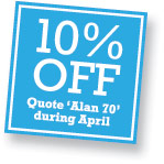 10% off printing during April
