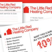 Digital & Litho Printing for London Heating & Plumbing Company