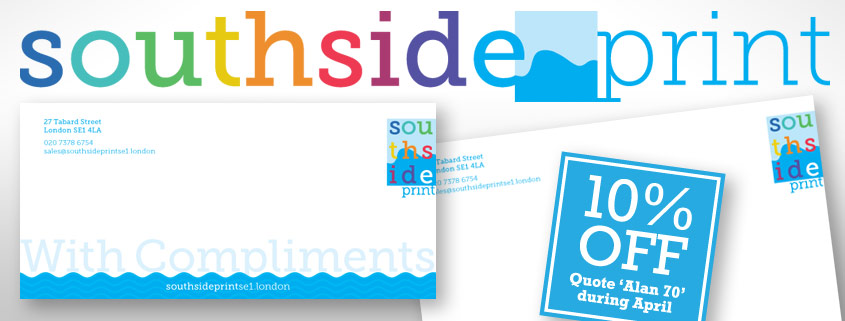 Southside Print launch by Firstpoint Print London Bridge