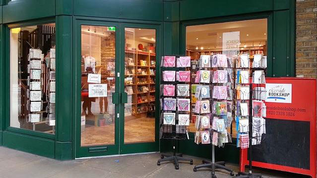 The Riverside Bookshop, Tooley Street, London SE1
