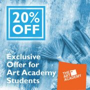 Exclusive offer for Art Academy Students