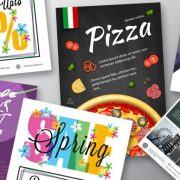 Printed leaflets & flyers for marketing