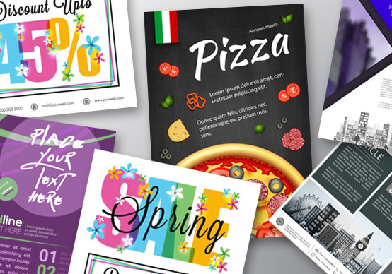 Printed leaflets & flyers for economical marketing