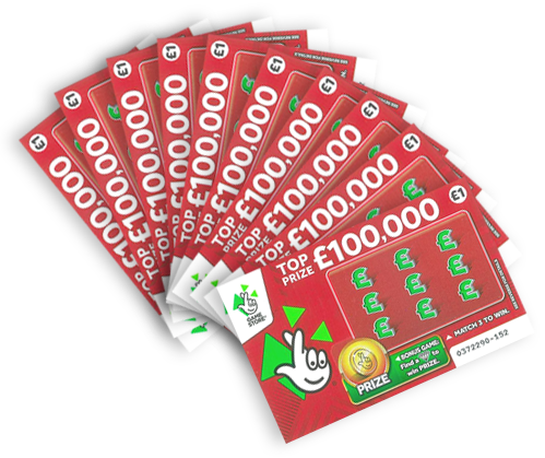 Get your lucky scratch cards