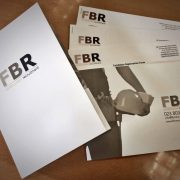 Printed folders, inserts, business cards & brochures for FBR Recruitment Consultancy