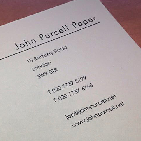 John Purcell Paper