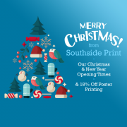 Christmas & New Year Opening - & Poster Offer!