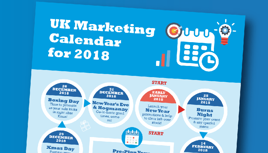Your 2018 Marketing Calendar (Infographic)