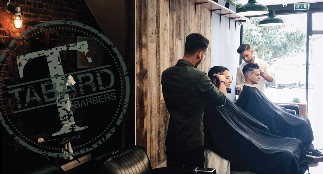 Printing for Tabard Barbers, London SE1