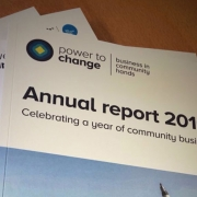 Annual report printing and design service