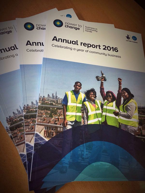 Annual report & accounts example