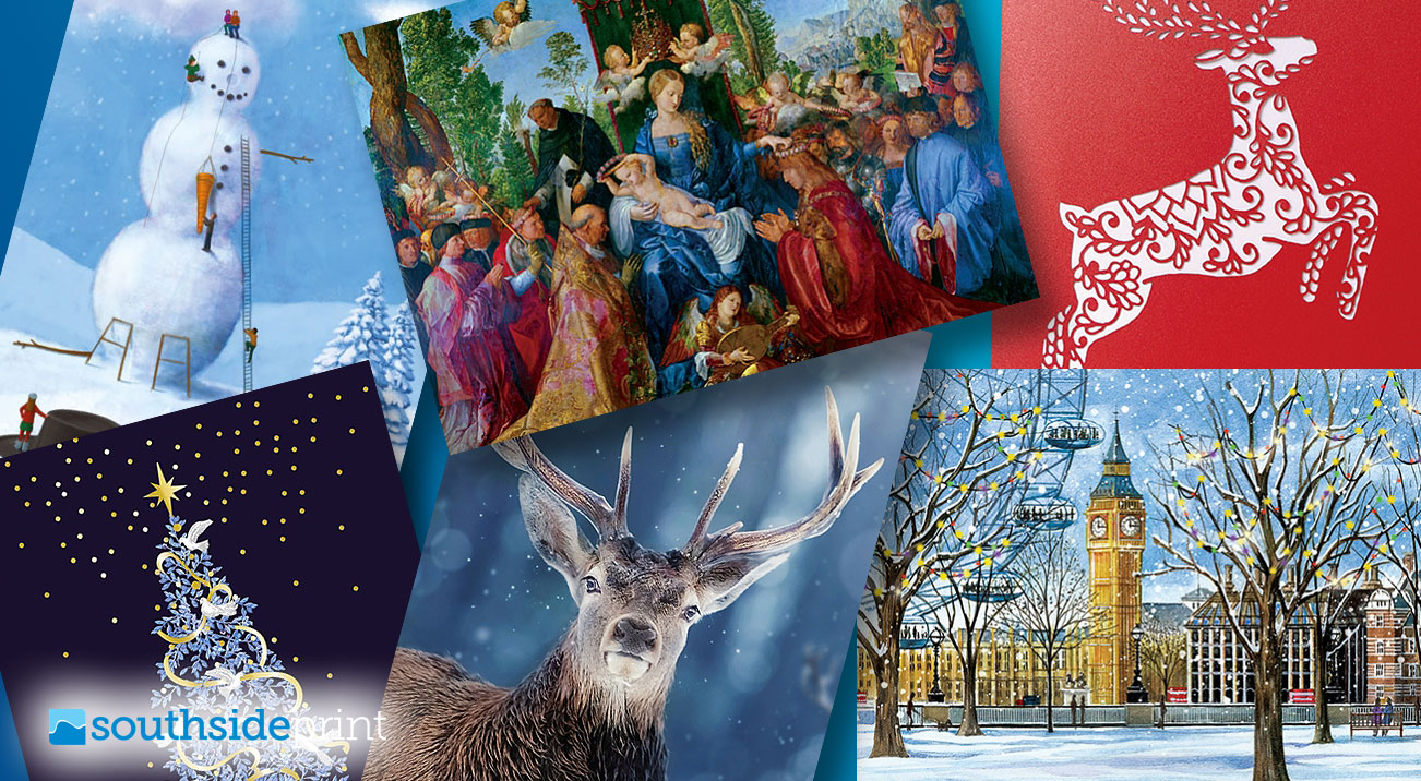 Personalised Christmas cards for 2019