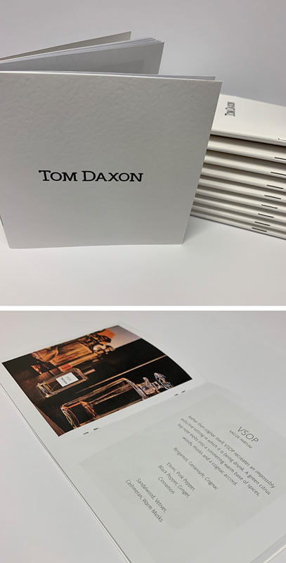 Thermographic printing is great for brochures