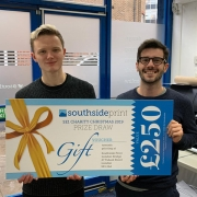 SE1 charity Bankside Open Spaces Trust won a £100 printing voucher