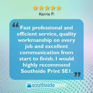 5 Star Google review by Katie P.