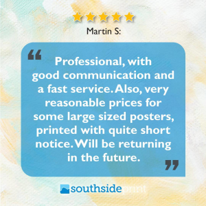 5 Star Google review by Martin S.