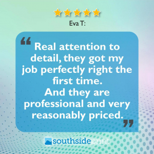 5 Star Google review by Eva T.
