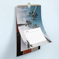 Calendars should be well-designed & attractive if you want people to use them & keep them up all year.